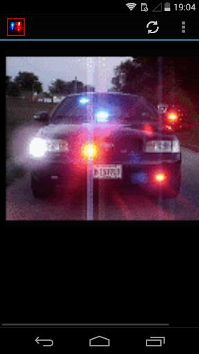 Luces de policia