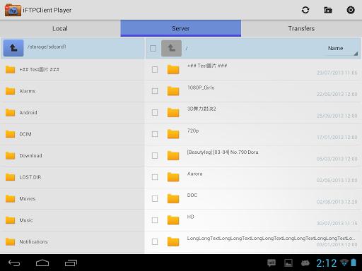 FTP Player (client) 2.0.0 screenshots 6