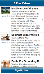 My Yoga Online - screenshot thumbnail
