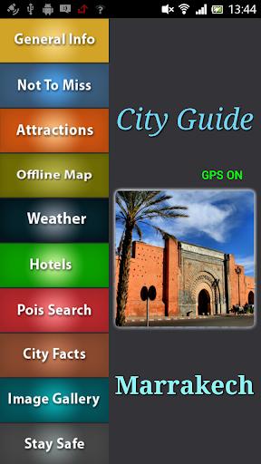 Marrakech Offline Guide