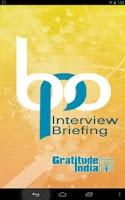 Screenshot of BPO Interview Briefing