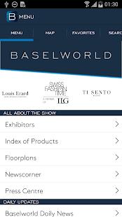 Baselworld 2016 screenshot