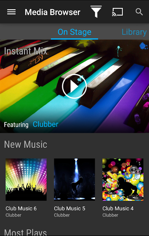 Emby for Android Mobile - screenshot