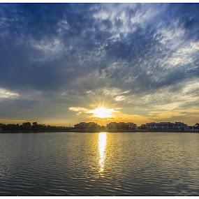 The Journey by Coolvin Tan - Landscapes Sunsets & Sunrises