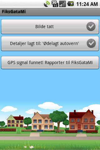 FiksGataMi - screenshot