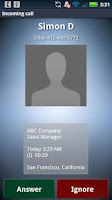 Screenshot of Look Who Called