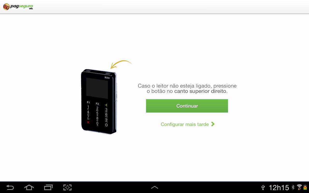 PagSeguro - screenshot