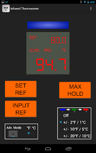 IR Thermometer- screenshot thumbnail
