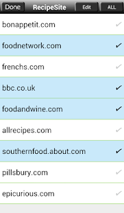 Recipe Search for Android- screenshot thumbnail