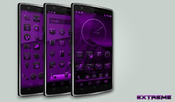Screenshot of JB Extreme Launch Theme Purple