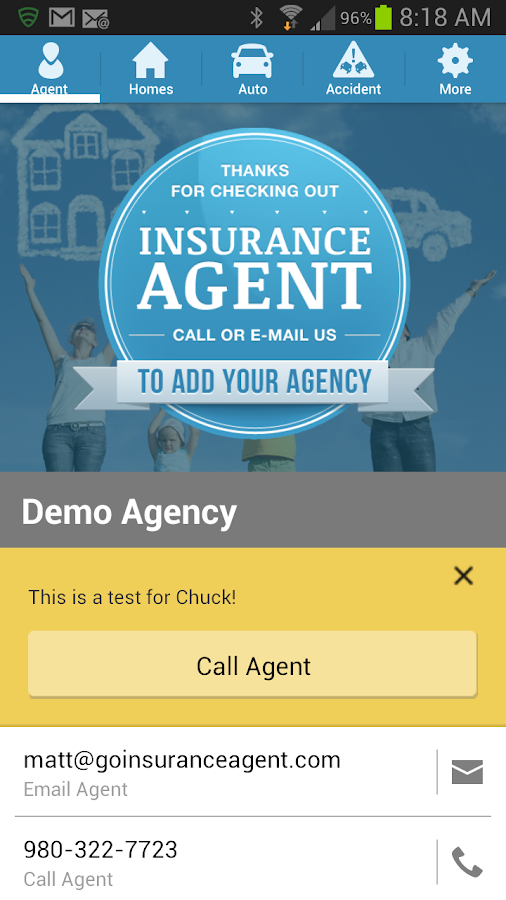 Insurance Agent- screenshot