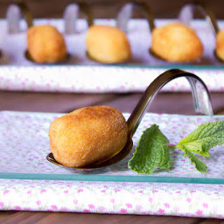 Codfish and Egg Croquettes.