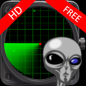 Alien / UFO radar HD free