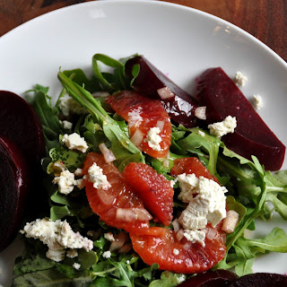 Beet Root Salad with Blood Oranges and Goat'S Cheese Recipe