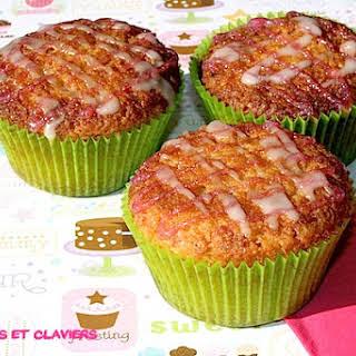 Almond and Amarena Cherry Muffins.