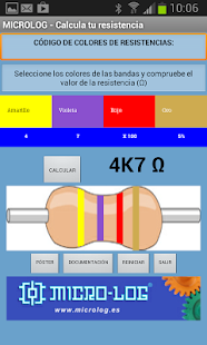 Colores de Resistencias - screenshot thumbnail
