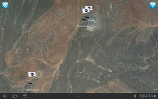 Screenshot of NASA Desert RATS Virtual Site