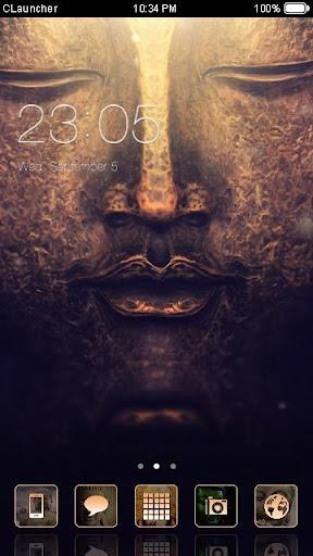 佛陀手機主題——暢遊桌面