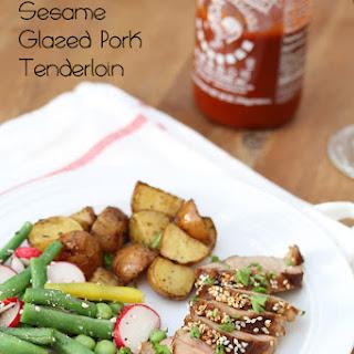 Sriracha & Sesame Glazed Pork Tenderloin