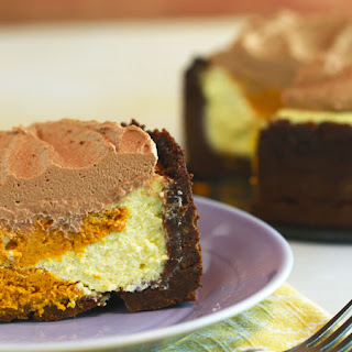 Carla Hall's Slow-Cooker Pumpkin Swirl Cheesecake