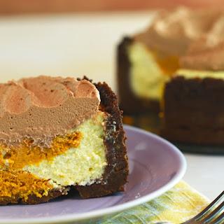 Carla Hall's Slow-Cooker Pumpkin Swirl Cheesecake