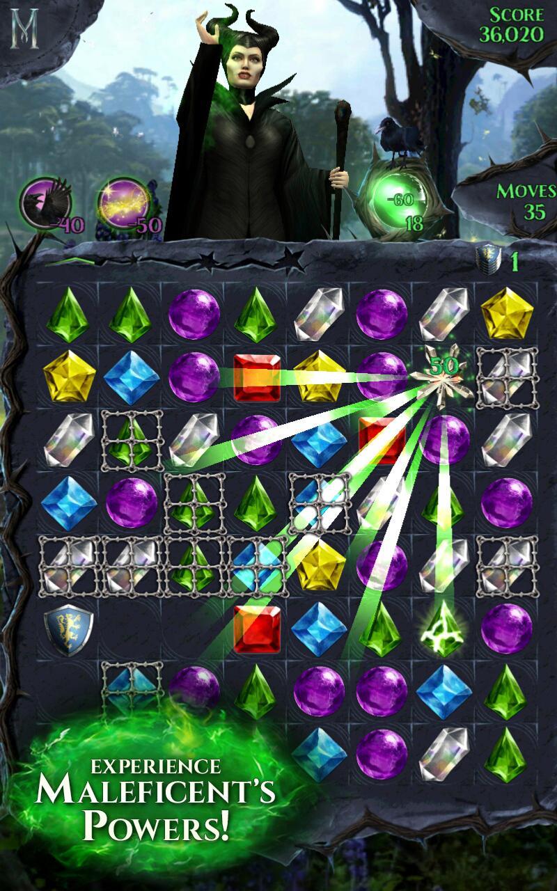 Maleficent Free Fall screenshot #1