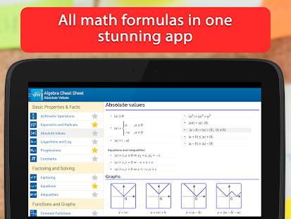 Formulae Helper - Math Formula