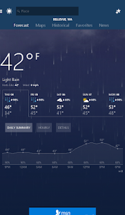 MSN Weather - Forecast & Maps Screenshot
