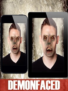Demon Face - Scary Booth FX- screenshot thumbnail