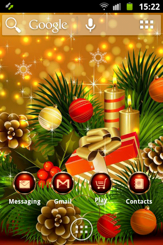 聖誕快樂ADW啟動
