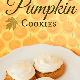 Perfect Pumpkin Cookie Recipe (With Cream Cheese Icing)