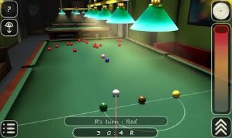 Screenshot of 3D Pool game - 3ILLIARDS Free