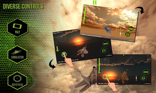 【免費模擬App】F22 Raptor Strike- Jet Fighter-APP點子