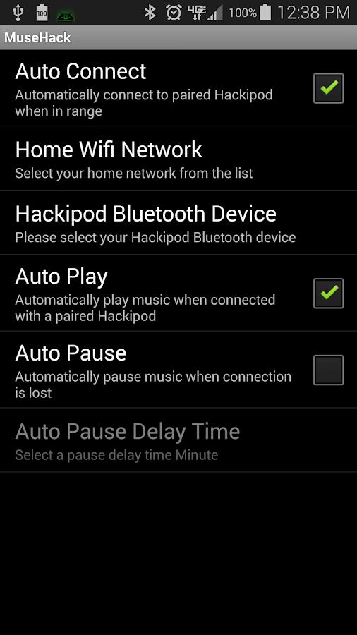MuseHack Lite- screenshot