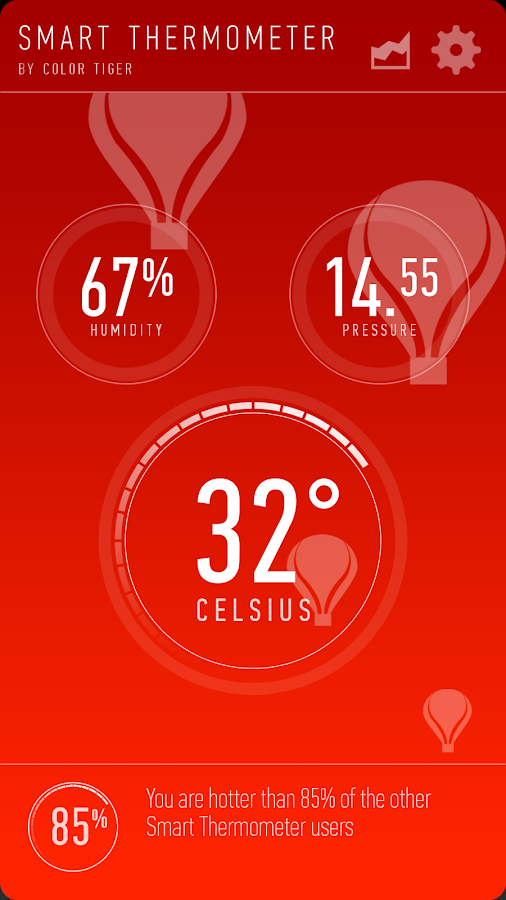 Smart Thermometer- screenshot