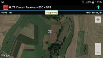 Screenshot of Graupner HoTT Viewer
