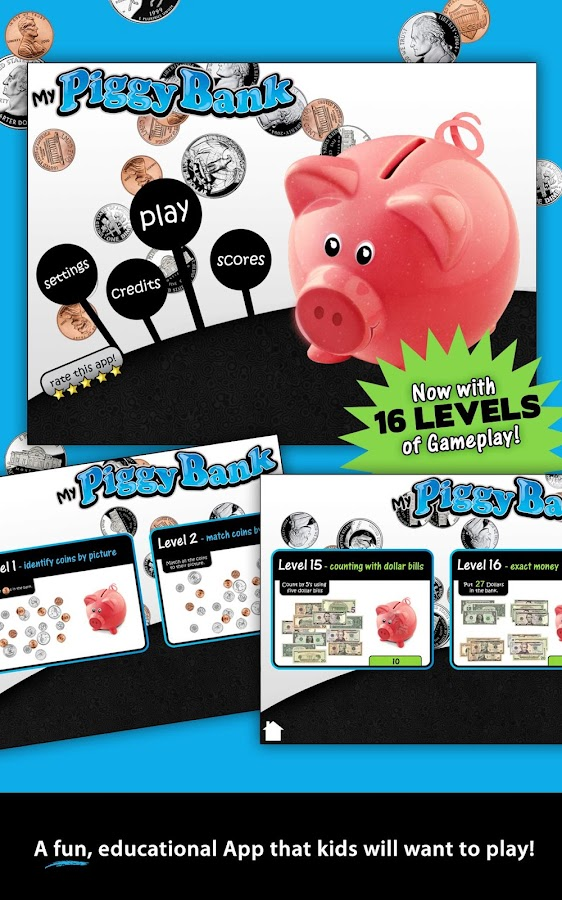 Learning Gems - My Piggy Bank- screenshot