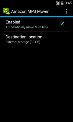 MP3 Mover for Amazon Music - screenshot