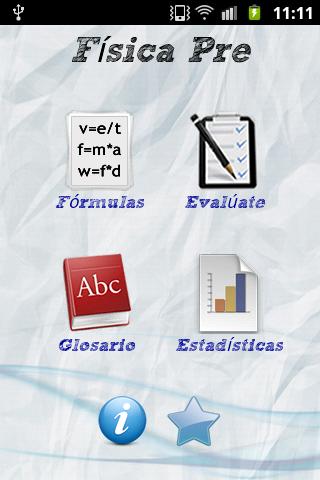 Formulario de física PRE