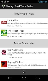 Chicago Food Truck Finder- screenshot thumbnail
