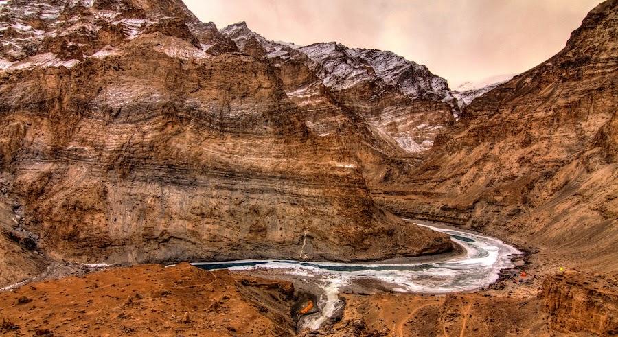 The Big Bend by Madhujith Venkatakrishna - Landscapes Mountains & Hills (  )