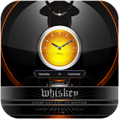 whiskey clock widget
