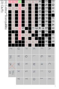 Italian toEnglish crossword - screenshot thumbnail