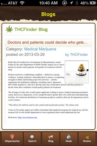 THCFinder - Dispensary Finder - screenshot