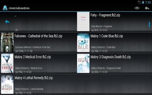 AlReader -any text book reader 1.911805270 screenshots 20