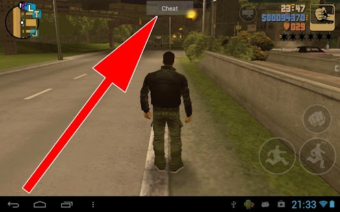 JCheater: GTA III Edition v1.8 Android Apk Games | Applications | Widget