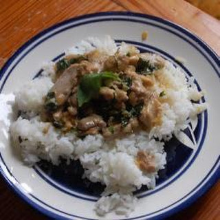 NM Thai Chicken with Coconut and Basil.