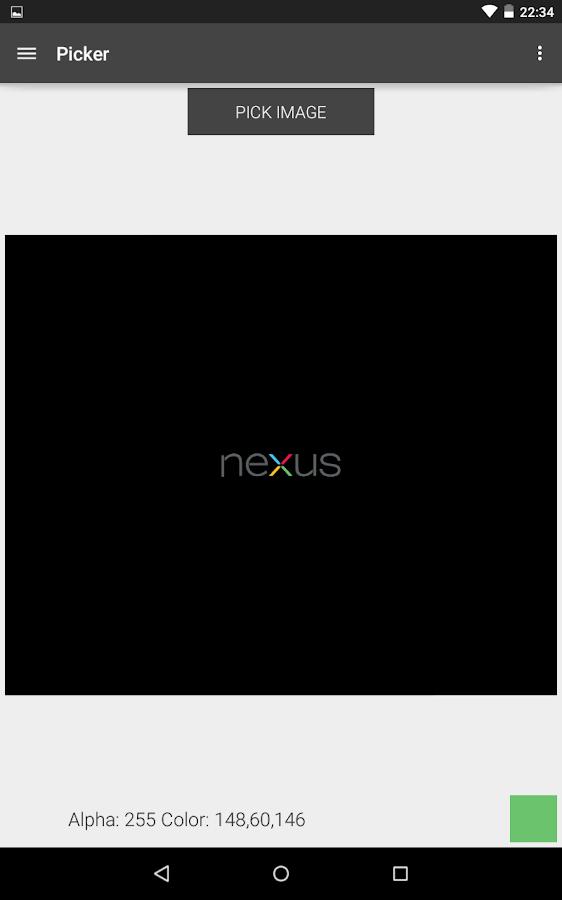Color Mixer RGB HEX - screenshot