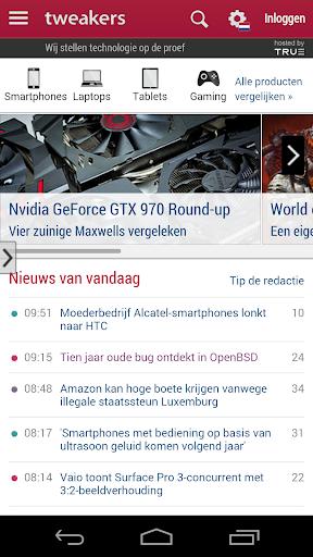 Tweakers.net viewer app