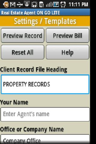 Real Estate Agent ON GO - screenshot